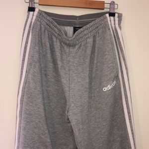 Adidas Grey sweat pants